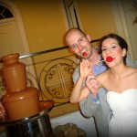 Συντριβάνι Σοκολάτας ως Τούρτα Γάμου